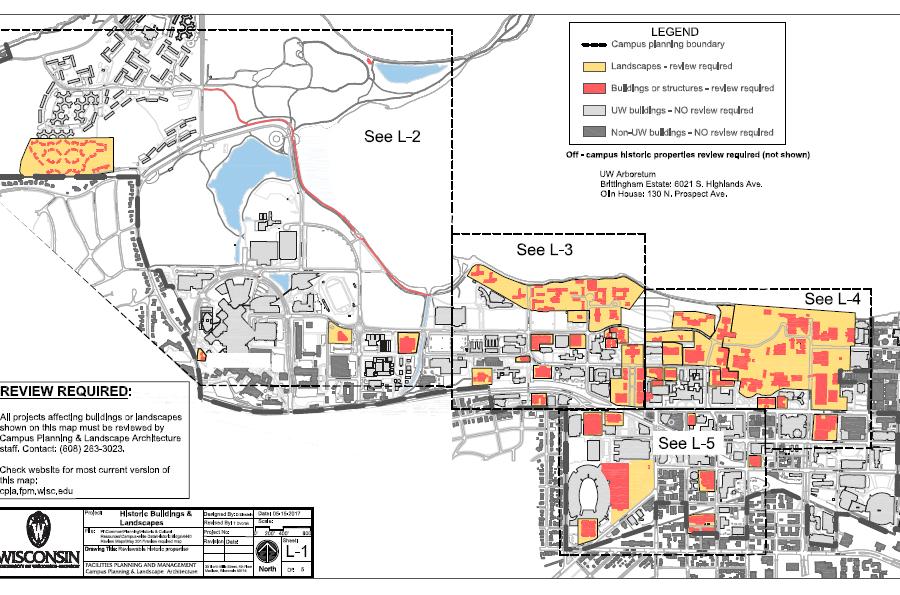 Buildings Sites Campus Planning Landscape Architecture UW
